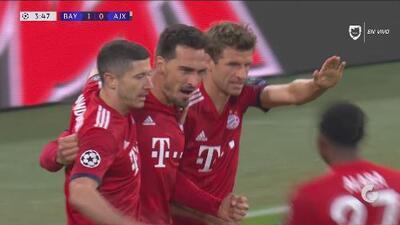 ¡Goool de Bayern Munich! Hummels abre el marcador ante el Ajax
