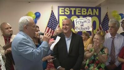 Esteban Bovo se postula a la Alcaldía de Miami-Dade y habla sobre uno de sus contrincantes