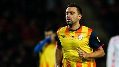 Xavi no podrá participar en el amistoso entre Cataluña y Venezuela