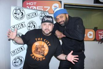 Mike Epps in the Hot 105.7 - 100.7 Studios!