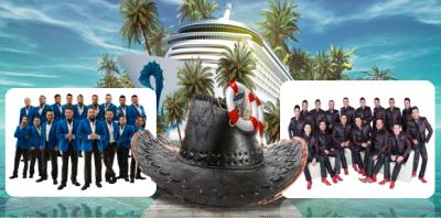 'Banda El Recodo' y 'Banda MS' sostendrán batalla musical en medio del Océano Pacífico