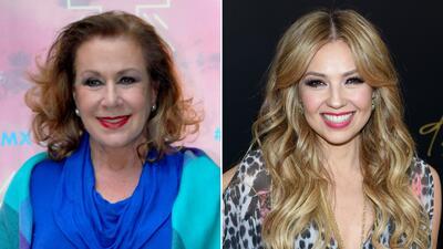 Thalía está alejada de su abuela y de su hermana Laura Zapata (otra vez)