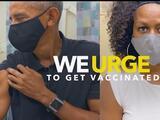Todos los expresidentes (menos uno) participan en una campaña para promover la vacunación contra el covid-19