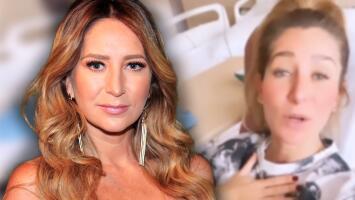 Geraldine Bazán sale de una cirugía y no se frena: envía mensaje público al que le da tiempo y amor