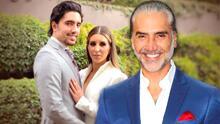 Así fue la celebración de la inesperada boda del hijo de Alejandro Fernández