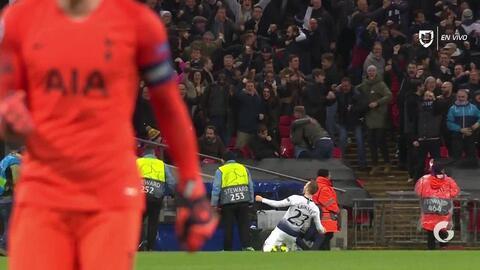 ¡GOOOL! Christian Eriksen anota para Tottenham Hotspur