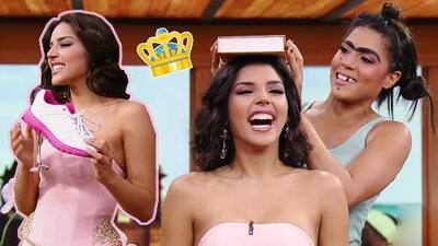 Mela la Melaza demostró cómo ella misma entrenó a Laura González para competir en Miss Universo