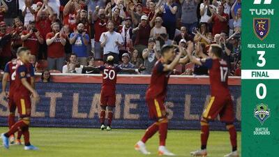 Real Salt Lake golea a Seattle Sounders y la era de Freddy Juárez sigue viento en popa