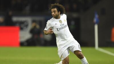 Marcelo podría ser baja del Real Madrid para jugar ante la Roma