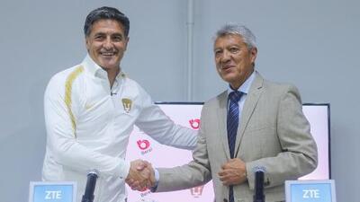 Las primeras palabras de Michel González en su presentación oficial con Pumas