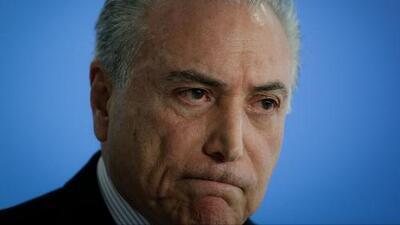 Arrestan al expresidente de Brasil Michel Temer en operación anticorrupción