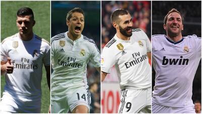 Luka Jovic, Chicharito, Benzema, Higuaín y los últimos 'killers' del Real Madrid