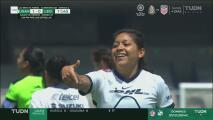 ¡Descolgada letal! Edna Santamaria no falla y marca el 1-0 de Pumas