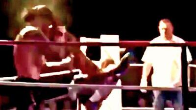 Este luchador logra un nocaut con una patada que no lograría ni el mismo Bruce Lee