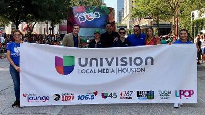 En fotos: Desfile Internacional Anual de Fiestas Patrias en Houston