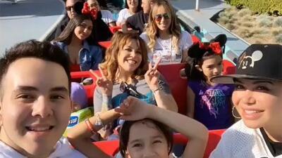 Los cinco hijos de Jenni Rivera y su tía Rosie juntos y felices en Disney como nunca antes los habías visto