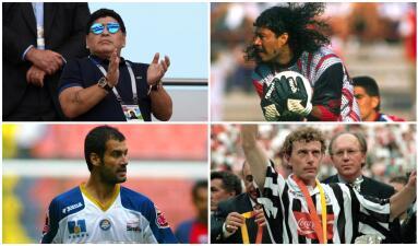 Maradona se una a la lista de grandes figuras que han pertenecido al fútbol mexicano