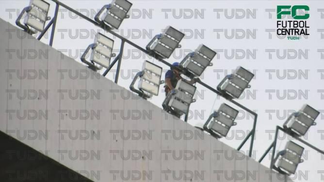 ¡Tecnología de punta! El Estadio Azteca presume su nuevo alumbrado
