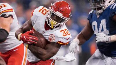 Indianapolis Colts firmó al RB Spencer Ware, ex Kansas City