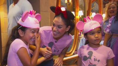 Karla Martínez y su familia hicieron un viaje inolvidable a Disney