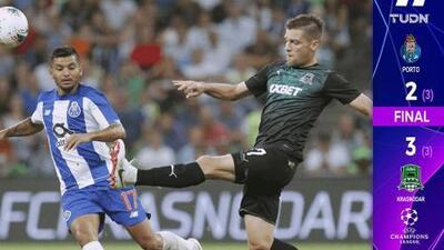 Pese a asistencia de 'Tecatito', Porto eliminado de Champions League