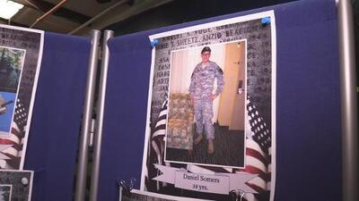 """""""Mi hijo es un héroe olvidado"""", asegura la madre de un veterano de Georgia"""