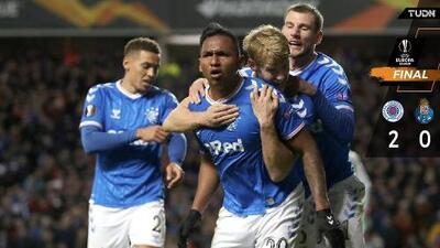Rangers vence al Porto y lo manda al último lugar del grupo