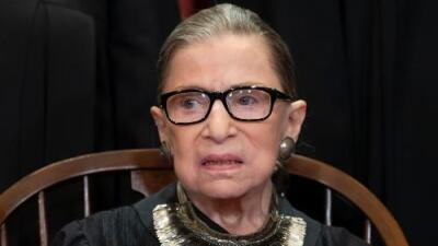 La jueza Ruth Bader Ginsburg fue sometida a una cirugía de cáncer de pulmón