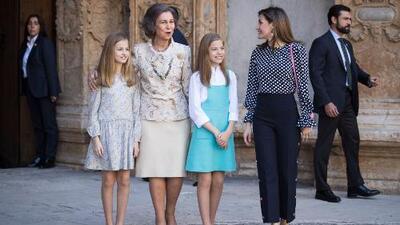 Estas imágenes revelarían detalles de la tensa situación que se vive en la familia real española