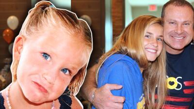 Las tiernas fotos de bebé de Nicole, la hija de Alan Tacher que ya cumplió 16 años