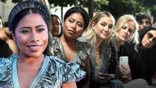 Las fotos de Yalitza Aparicio en primera fila al lado de Nicole Kidman y Kate Hudson en el New York Fashion Week