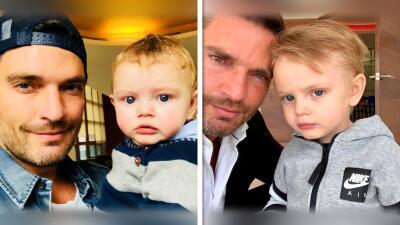 Julián Gil tenía dos años sin fotografiarse con Matías, publicó las imágenes y él mismo explica que no violó la ley