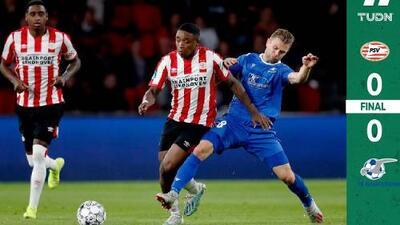 Sin 'Chucky', pero con 'Guti', PSV sigue con vida en Europa League