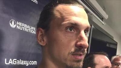 """¿Eres tú, Piojo? Zlatan sobre el VAR: """"¿No sé si estaban dormidos o disfrutando mi gol?"""""""
