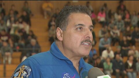 Esta es la receta para el éxito del astronauta mexicano José Hernández