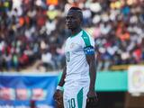 Sadio Mané falla un gol sin portero con Senegal en África