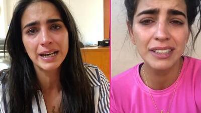"""""""Si no vienen no la va a librar"""": desesperada y entre lágrimas Bárbara de Regil pide sangre para su papá"""
