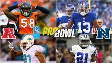 Rosters de estrellas que se enfrentarán en el renovado Pro Bowl 2017