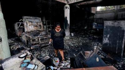 Una familia muere en incendio y dos hombres son asesinados: se complica el frágil diálogo en Nicaragua