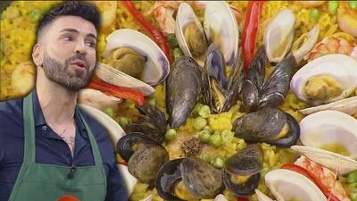Jomari Goyso nos compartió su secreto para preparar una 'Paella de mariscos' fácil y deliciosa
