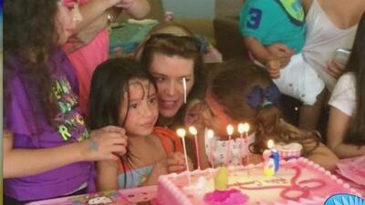Alicia Machado celebró el cumpleaños de su hija Dinorah