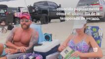 Miles de turistas colmaron las playas de Wilmington durante feriado de 'Labor Day'