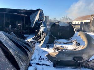 En fotos: Múltiples heridos y pánico entre comunidad generó explosión de camión con gasolina