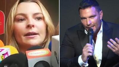 Primeras declaraciones de Marjorie de Sousa luego que Julián Gil dijo no extrañar a Matías, el hijo de ambos