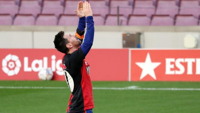 Confirman castigo a Lionel Messi por homenajear a Diego Maradona