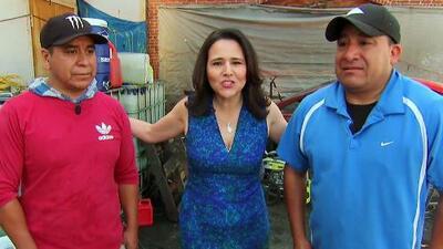 La abogada Jessica Domínguez sorprendió a unos trabajadores que tenían muchas dudas sobre inmigración