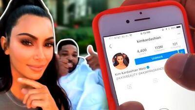 En video: esta fue la ingeniosa manera de Kim Kardashian para hacer las paces con Tristan Thompson