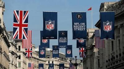 Definidas las fechas y horarios de los partidos de NFL en Londres