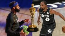 A lo Kobe: Durant y Conley, figuras de la NBA, ganaron un Premio Oscar