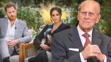 """No fue el """"estrés"""" por la entrevista de Oprah ni una infección: se revela la causa de muerte del príncipe Philip"""